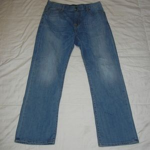 Lucky Brand 181 Relaxed Straight Jeans 34/32